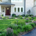 Sustainable Site Includes Rain Garden and Natives