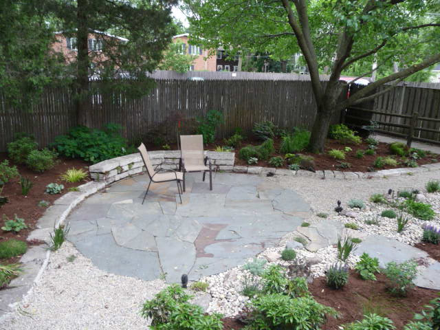 No Lawn Backyard | Design Green Landscapes on No Grass Backyard  id=66155
